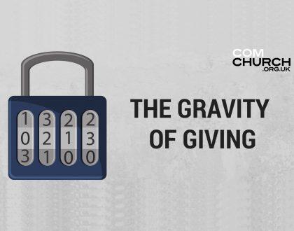 The Genius of Generosity / The Gravity of Giving