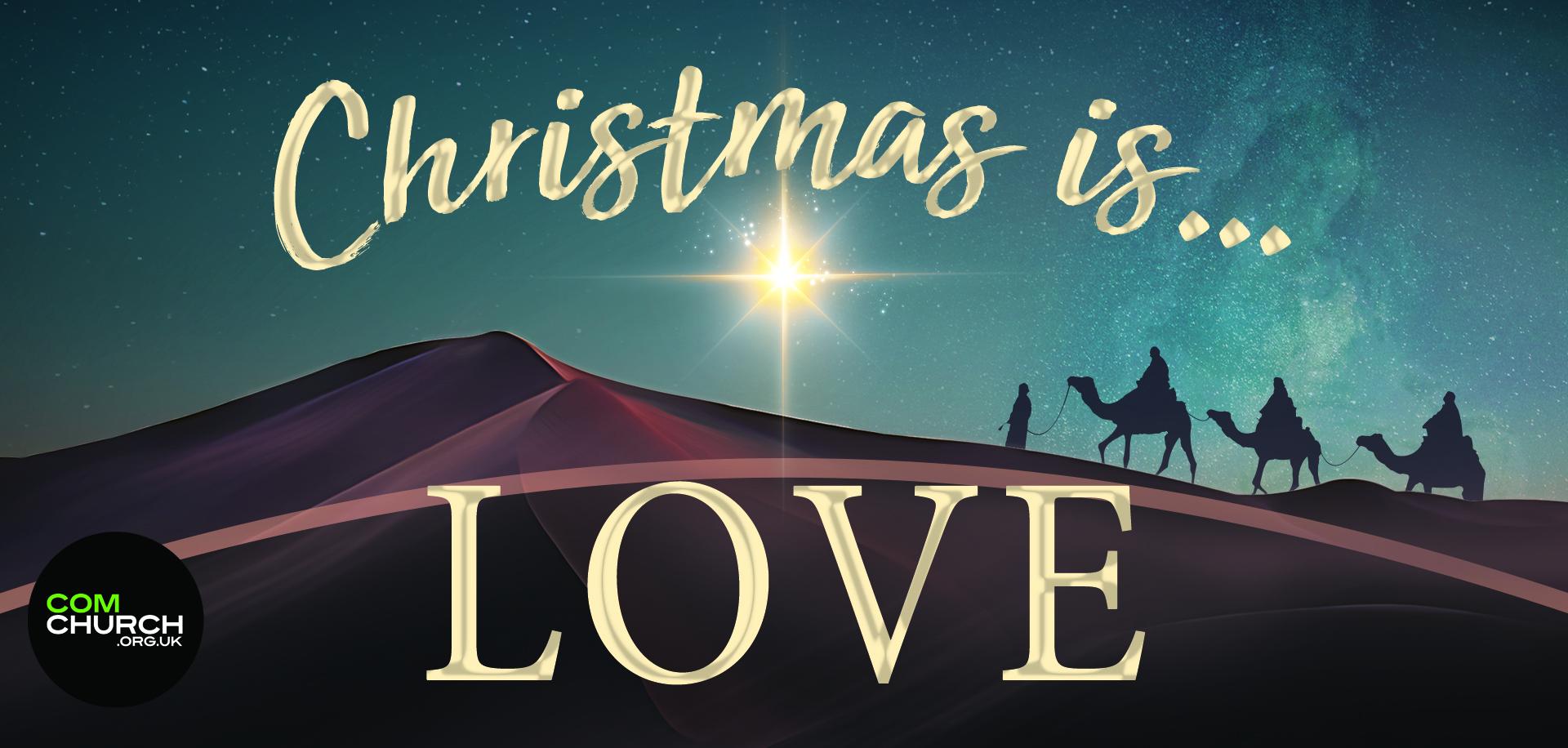 Christmas Is...Love